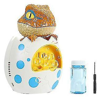 Electric dinosaur bubble machine, summer outdoor children's toy
