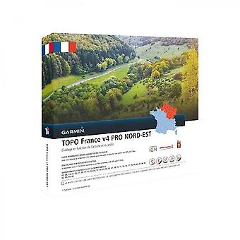 Karta över France V5 Northeast Pro