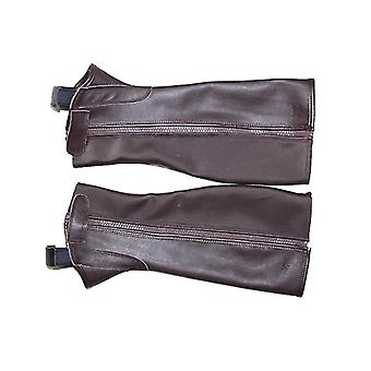 Beruf Half Chaps Reiten weiches Leder Körper protektorReiten