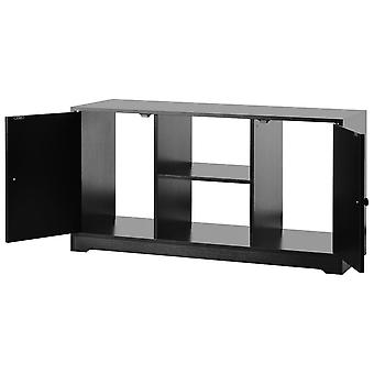 Tv Stand Cabinet With 2 Doors And Shelves
