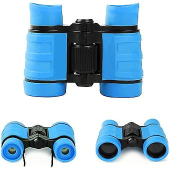 Binoculars binoculars for kids binoculars toys 4x30 for ages 3 4 5 6 7 8 years boys for kids  blue