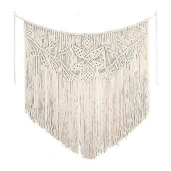 Home decor decals hand woven pendant macrame wall hanging art woven tapestry bohemian crafts decoration tapestry