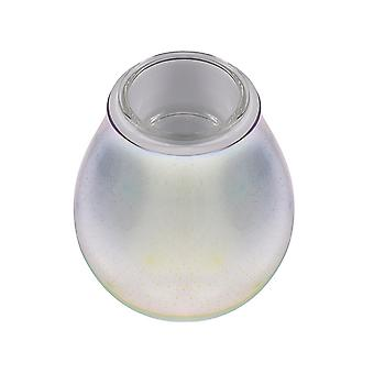 3d Glass Electric Wax Oil Burner Fragrance Oil Wax Melt 7 Color With Led Light