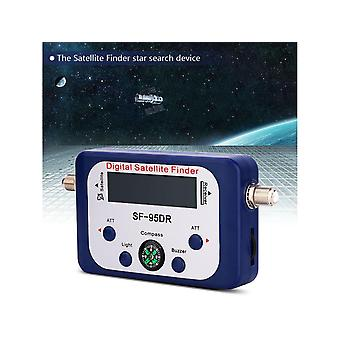 Affichage numérique Satellite Finder Satellite Signal Meter Compass TV Dish Fta Lnb Satellite Finder Localizador Pour Recevoir