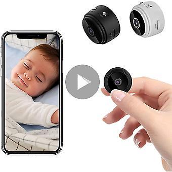 كاميرا تجسس، 1080p Hd Hd ميني واي فاي كاميرا تجسس، كاميرا صغيرة مع الكشف عن الحركة