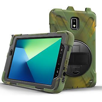 Support rotatif à 360 degrés Sangle à main + bandoulière, tablette housse de protection Tab Active2-8 T390, onglet Active2-8 T395, onglet Active2-8 T397 Protection S