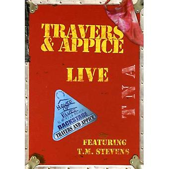 Travers & Appice - Live at a importação EUA House of Blues [DVD]