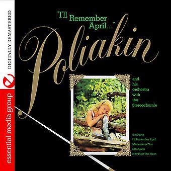 4 月 [CD] USA 輸入を覚えているだろうラウル Poliakin & Stereocho - と彼のオーケストラ