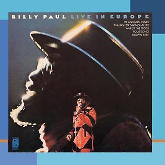 Billy Paul - Live in Europe [CD] USA import
