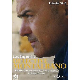 Detective Montalbano, Episodes 16-18 [DVD] USA import