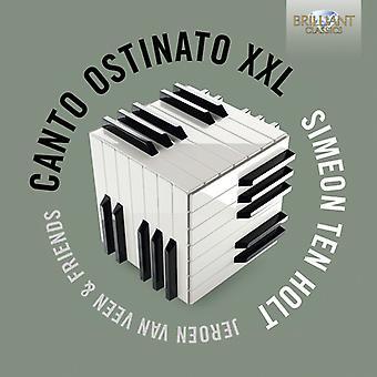 Van Veen, Sandra & Jeroen - dix Holt: Importation USA Canto Ostinato Xxl [CD]