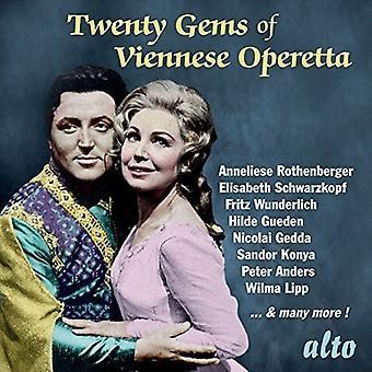 Twenty Gems of Viennese Operetta - Twenty Gems of Viennese Operetta [CD] USA import