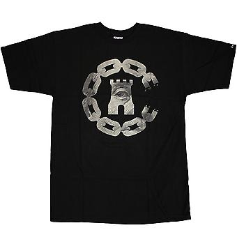 Crooks & Castles Currency Chain C T-Shirt Black