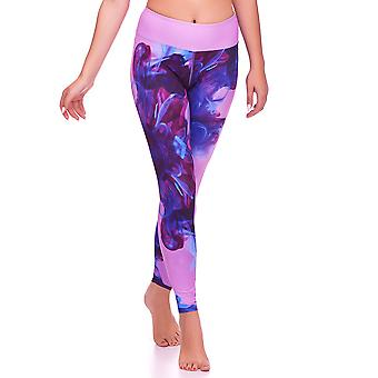 Mio Active Long Juicy Swirl Yoga Trousers MS16S4L