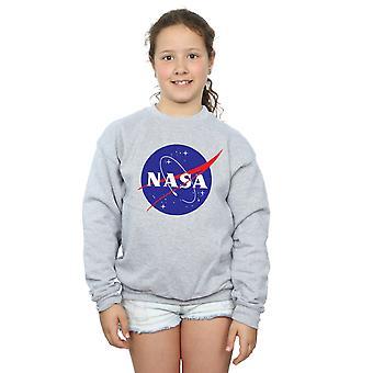 NASA piger klassiske insignier Logo Sweatshirt