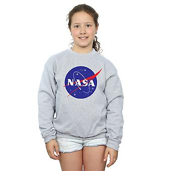 NASA Girls Classic Insignia Logo Sweatshirt