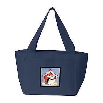 Dog House Collection English Bulldog White Lunch Bag
