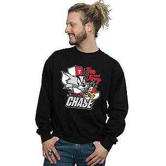 Chat & souris Chase Sweatshirt Tom et Jerry masculine