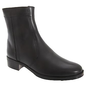 Scimitar Mens Inside Zip Lined Resin Sole Boots