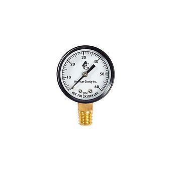 American Granby EIPPG602-4B Pressure Gauge Back Mount