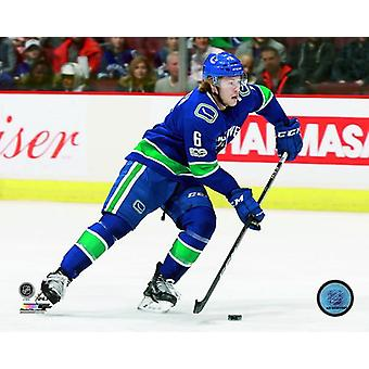 Brock Boeser 2017-18 toiminta Photo Print