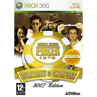 World Series of Poker Tournament Champions (Xbox 360) - Factory Sealed