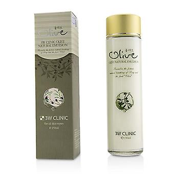 3w Clinic Olive Natural Emulsion - 150ml/5oz