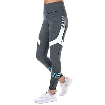 adidas performance Womens Ultimate Tights in Charcoal Marl