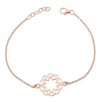 Orphelia Silber 925 Armband Rose Mittelkreis ZA-7076/1