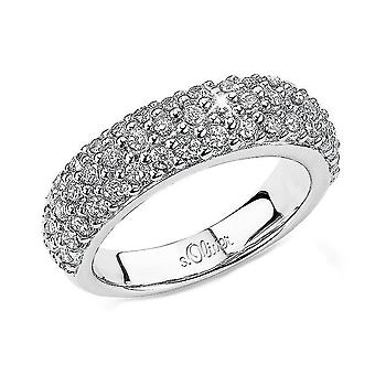 s.Oliver juvel damer ring sølv cubic zirconia SO465