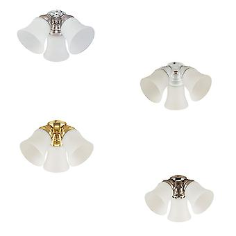Add-on light kit for Design & Combine ceiling fans in various colours