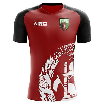 2020-2021 Afghanistan Home Concept Football Shirt - Adult Long Sleeve