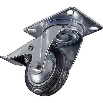 Y77420 عجلة دوارة 1 pc (ق) 80 مم تحميل القدرة (كحد أقصى): 75 كجم