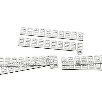 Auhagen 80200 H0 Windows White Plastic assembly kit