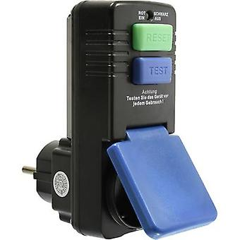 as - Schwabe 45230 In-line socket + PRCD Black