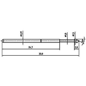 PTR 1025/E-H-1.5N-AU-1.5 ponteira de precisão