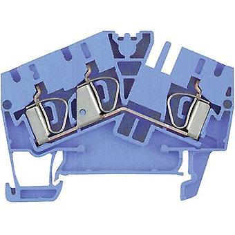 Weidmüller 1770860000-1 ZDU 4-2/3AN BL 0,5 - 6 mm² Atol Blue