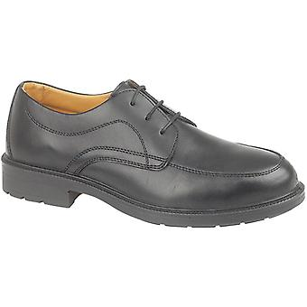 Amblers Steel FS65 Mens FS65 Safety Work Shoes Black