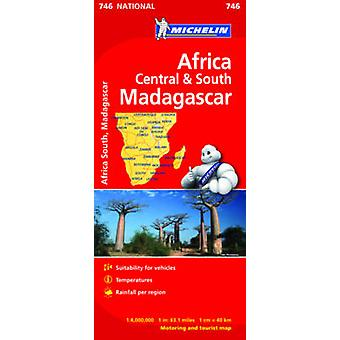 Africa Cental  South Madagascar  Michelin National Map 74