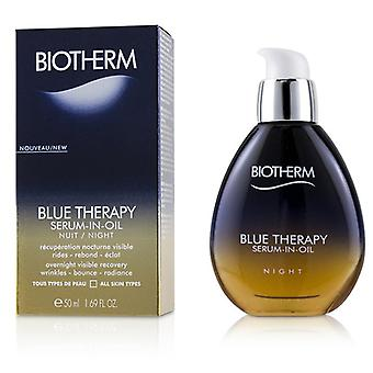 Biotherm Blue Therapy Serum-in-oil Night - For All Skin Types - 50ml/1.69oz