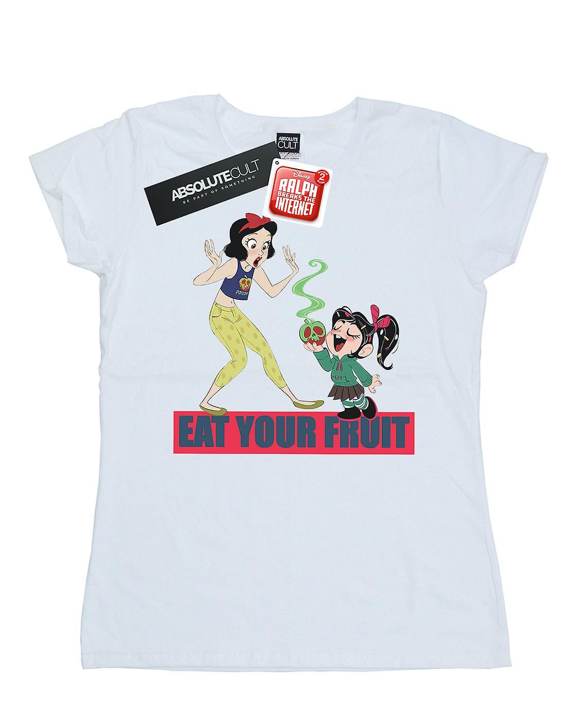 Disney Women's Wreck It Ralph Eat Your Fruit T-Shirt