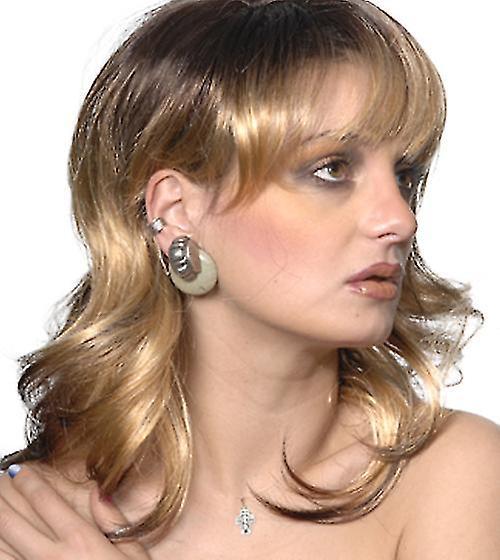 Fashion women medium wavy Shania wig