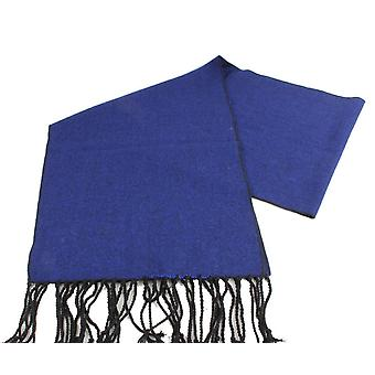 ナイツ ブリッジ ネックウェアー ツイード ウール スカーフ - ロイヤル ブルー