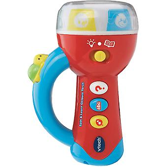 Vtech Spin & Learn Colours Torch