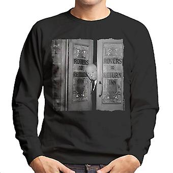 TV Times Alfred Hitchcock At The Rovers Return 1964 Men's Sweatshirt