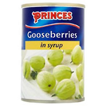 Princes Gooseberries in Syrup
