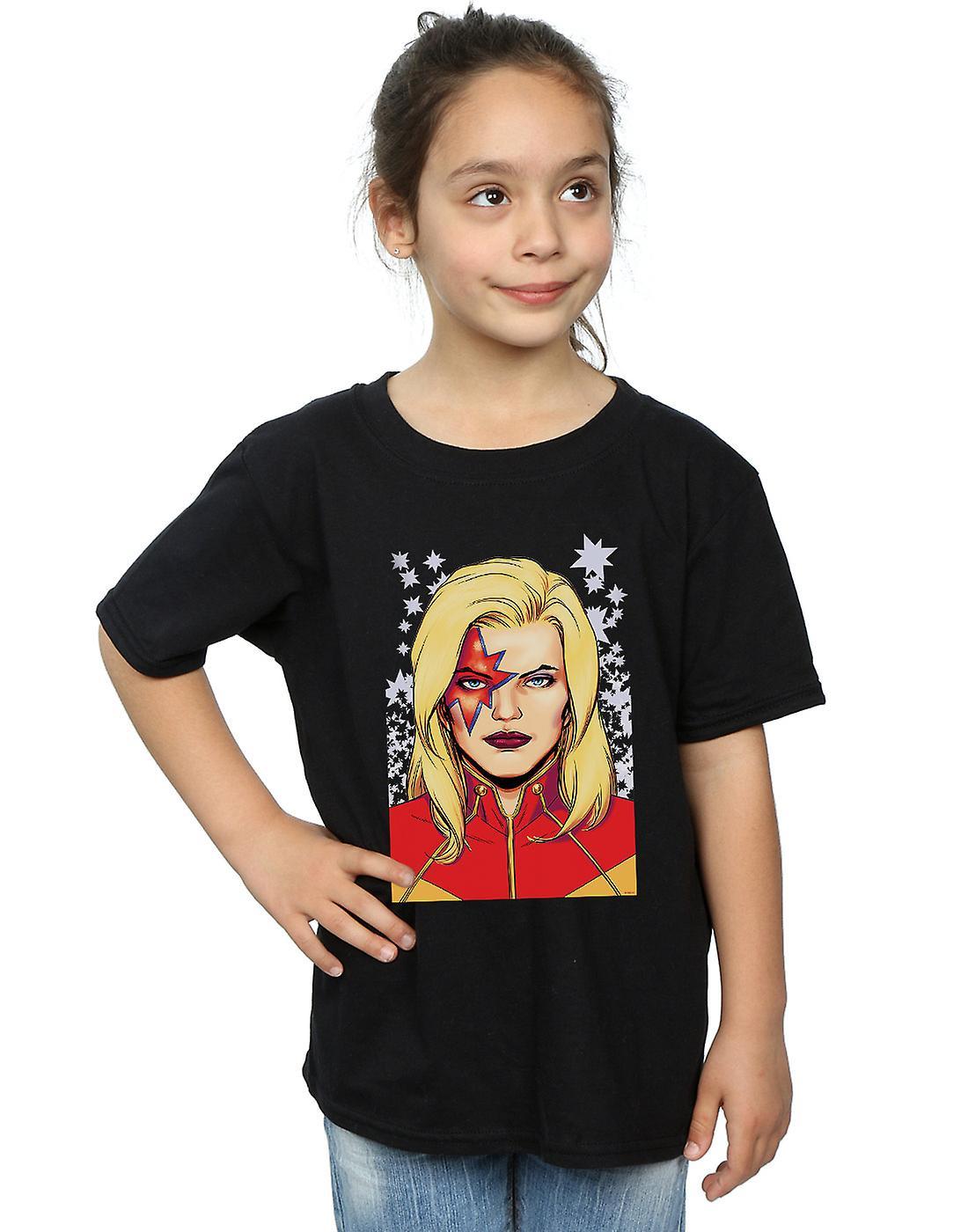 Marvel Girls Captain Marvel Glam T-Shirt