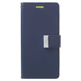 Mercury GOOSPERY Rich Diary till Samsung Galaxy S9 - Blå