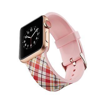 Siliconen horlogebandje voor Apple Watch 4 44mm, 3/2/1 42mm-Lattices