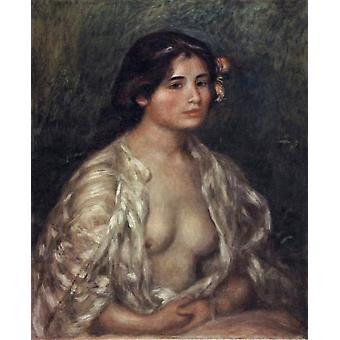Female Semi-Nude, Pierre Renoir, 65.5 x 53.5 cm